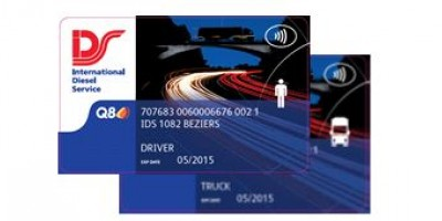 Truck and driver card